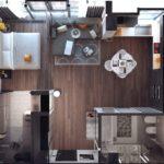 Что можно придумать в планировке квартиры-студии