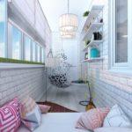 Как превратить маленький балкон в оригинальную зону для отдыха