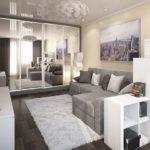 Самая продуманная мебель для однокомнатной квартиры